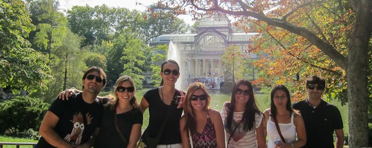 """madrid private tour at the Retiro Park"""