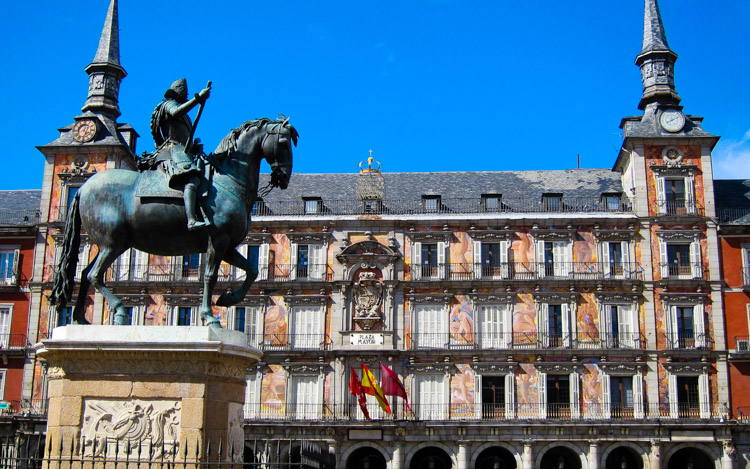 Madrid tour en Plaza Mayor