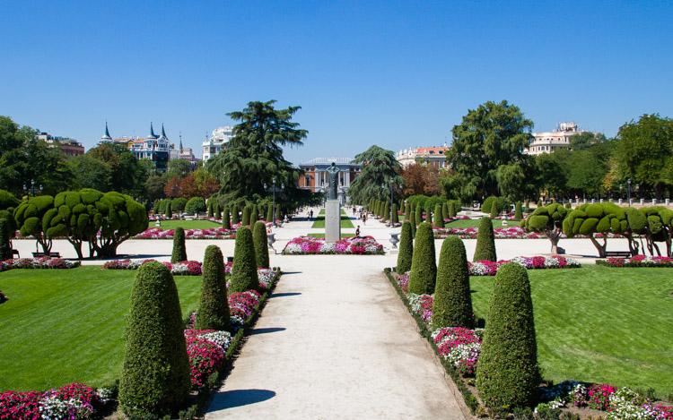 Madrid tour en el Parque del Retiro