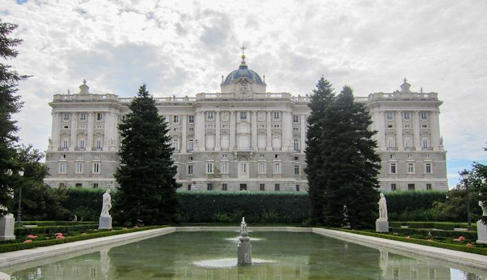 Jardines de sabatini - Jardines palacio real madrid ...
