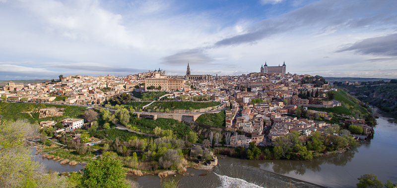 City of Toledo from a view point