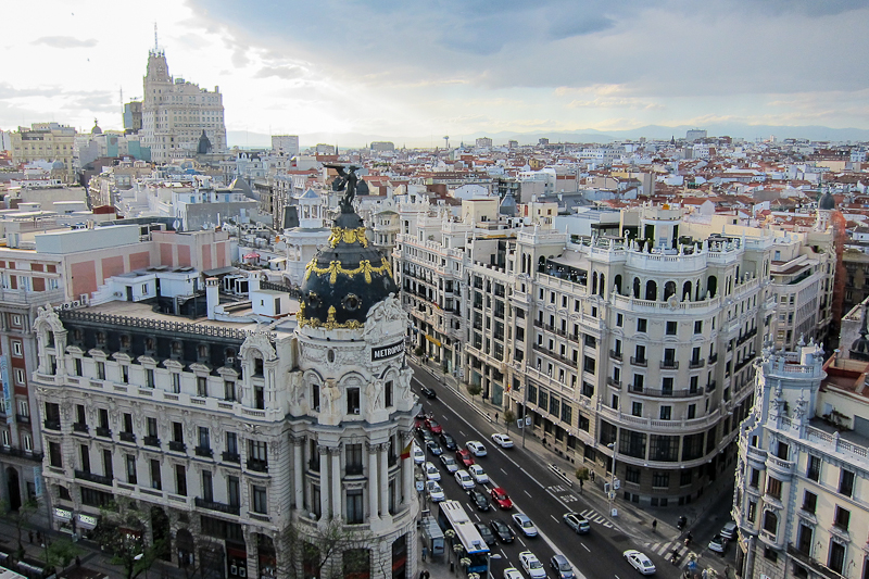 Madrid panoramic views (2)