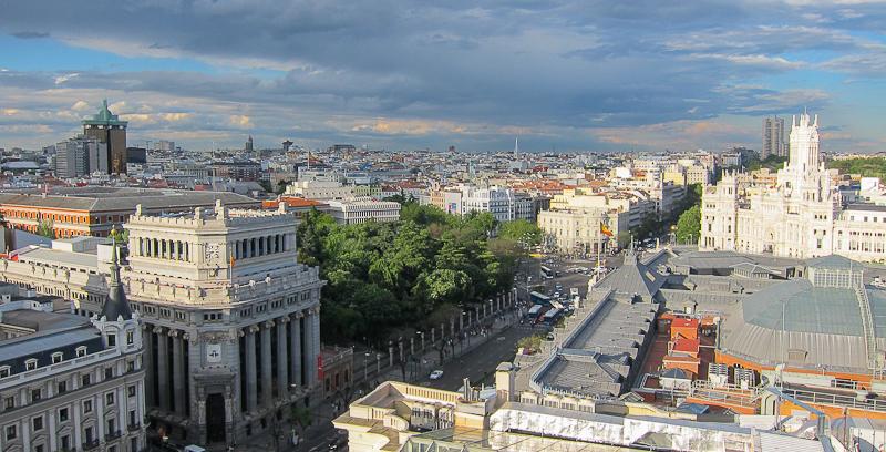 Madrid panoramic views