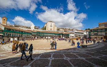 Plaza mayor de Chinchon