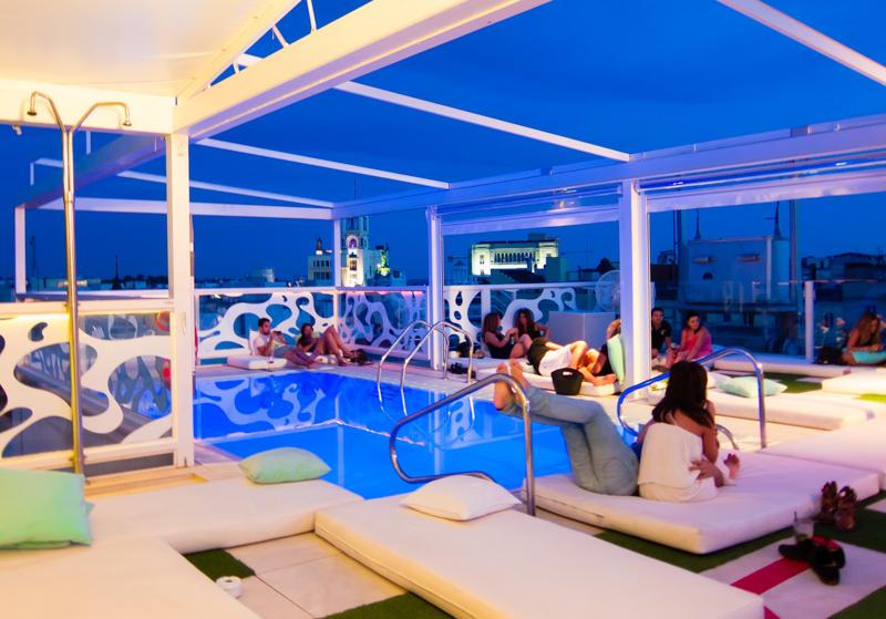 terraza hotel room mate oscar chueca