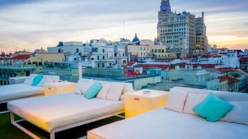 Terraza Hotel Oscar Chueca