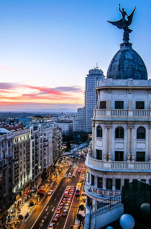 Terraza del hotel vincci 66 for Terrazas nocturnas madrid