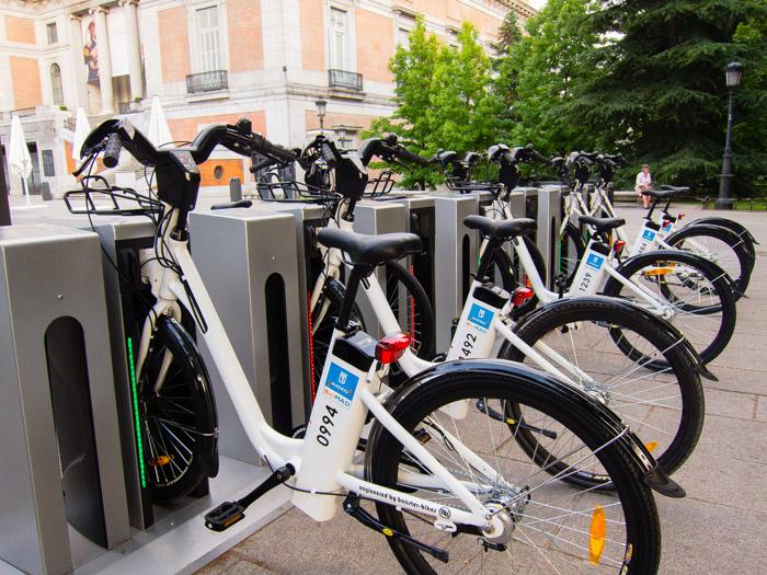 BiciMad Alquiler de bicicletas en Madrid