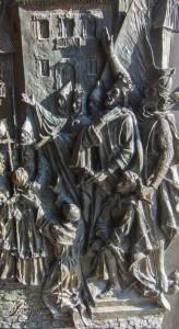 Puerta de la Catedral de la Almudena