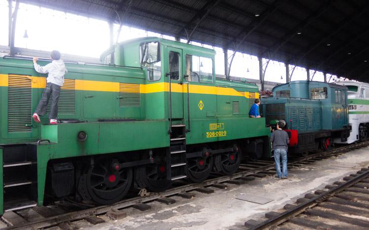 Museo del Ferrocarril de Madrid - Trenes