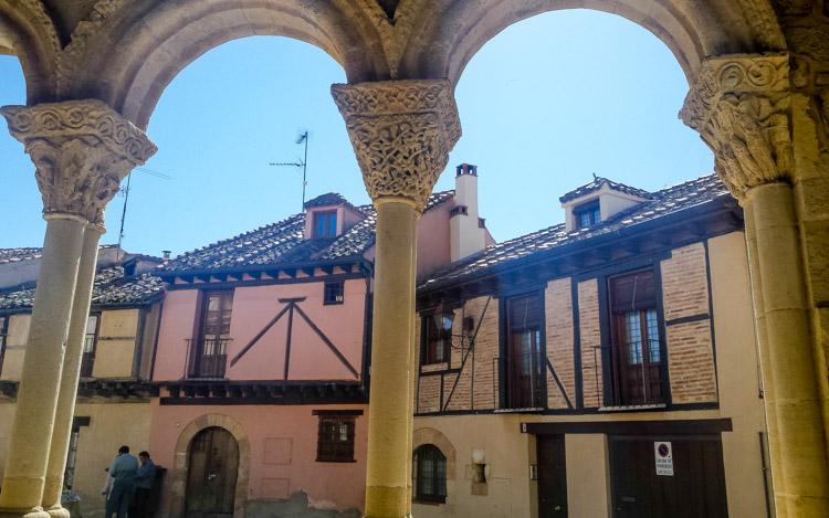 Plaza de San Lorenzo en Segovia